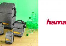 Terra Linie von Hama - nachhaltige Kamerataschen aus PET-Flaschen, Taschensortiment von klein bis groß