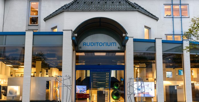 Auditorium Eingang in Hamm