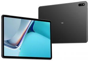 Huawei-Tablet MatePad 11 von vorne und hinten