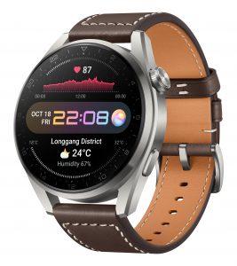 Huawei-Smartwatch Watch 3 Pro in Titanium Brown