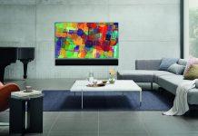 LG Soundbar im modernen Wohnzimmer