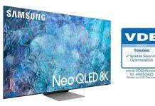 Samsung Neo QLED-TV für Raumklang vom VDE zertifiziert