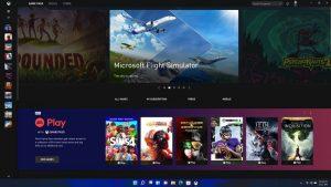 Xbox Game Pass für Windows 11