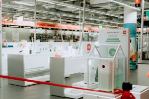 Xiaomi Shop in Shop im Saturn Düsseldorf-Königsallee
