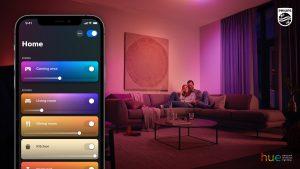 Szenarien in der Philips Hue App