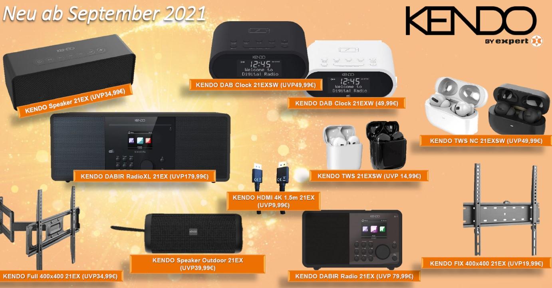 Kendo-Sortiment ab September 2021
