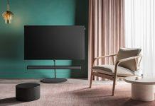 Loewe Bild i mit integrierter bar5 und sub2 im Zimmer
