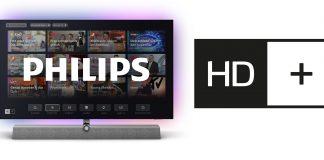 Philips TV mit integriertem HD+