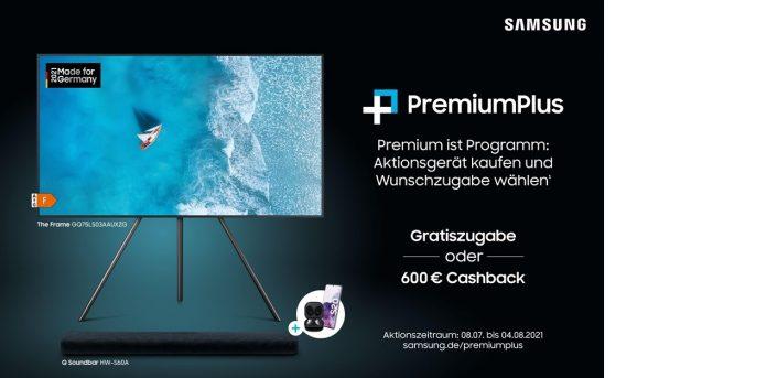 Samsung Plakat zur PremiumPlus-Aktion 2021 bearbeitet