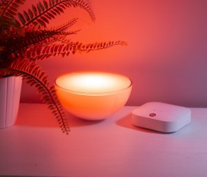Philips Hue-Beleuchtung für den Smart Home Sync Alarm von Yale