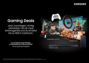 Samsung Gaming-Promotion 2021