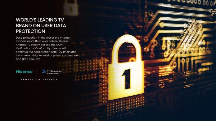 Hisense erhält Datenschutz-Zertifizierung von TÜV Rheinland