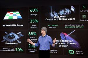Oppo Imaging Director Simon Liu stellt neue Smartphone-Kamera-Technologien vor