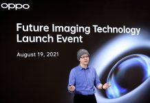 "Oppo Imaging Director Simon Liu auf dem ""Future Imaging Technology Event 2021"