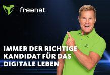 Dieter Bohlen Werbegesicht von freenet