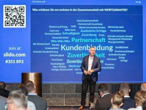 """""""Wir lassen die Krise hinter uns und konzentrieren uns auf unsere Chancen"""", sagt Wertgarantie Geschäftsführer Vertrieb Thilo Dröge"""