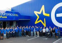 Das vielköpfige Team von Euronics XXL Funk