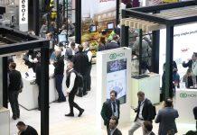 Gut besuchte Messehallen zur EuroShop 2020