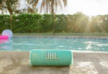 JBL Flip 6 Speaker am Pool