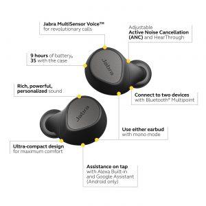 Features von Jabra Elite 7 Pro