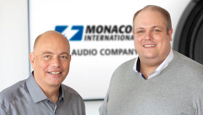 Thomas Mikus und Tim Struckmann, Monacor International