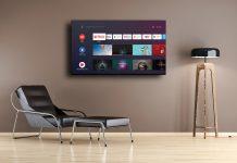 Nokia Smart TV 6500D im Zimmer