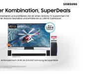 Samsung SuperDeals im Oktober 2021 Plakat