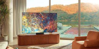 Samsung Neo QLED QN95A im schicken Haus am See