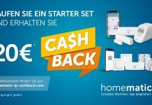 Cashback Homematic IP Starter Set 2021