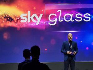 Devesh Raj bei der Präsentation von Sky Glass