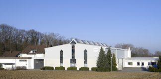Firmengebäude von in-akustik in Ballrechten-Dottingen