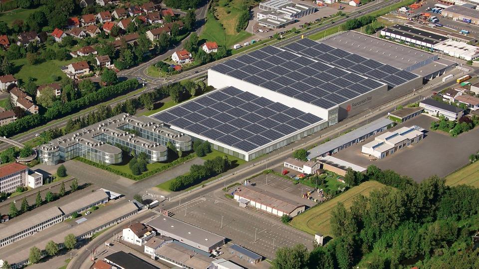 Loewe Areal Lager und Logistik