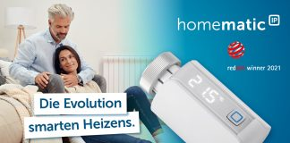 Homematic IP Thermostat Evo